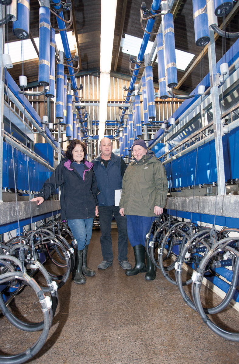 famers and milking equipment