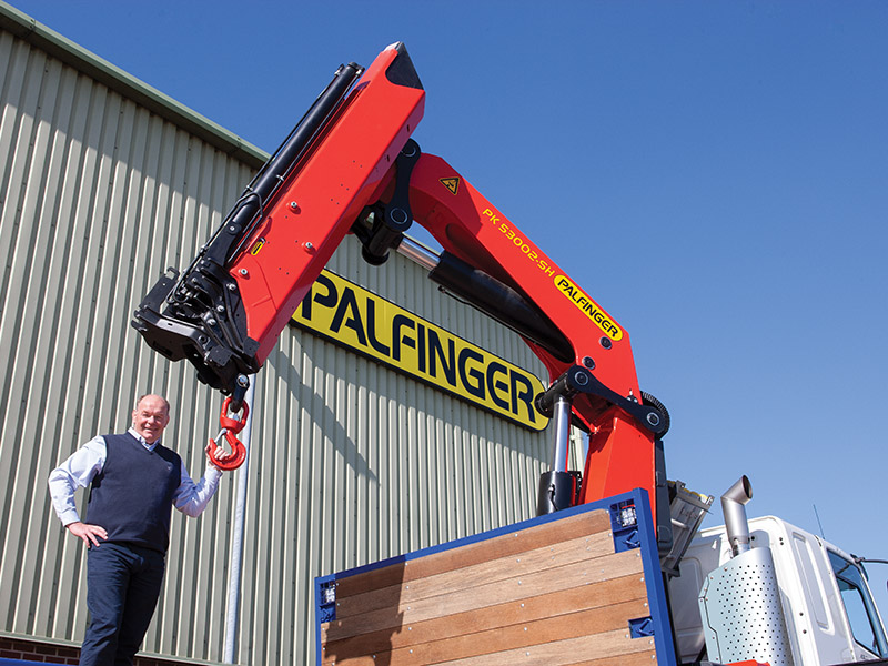 Palfinger UK is Britain's largest national lorry crane provider