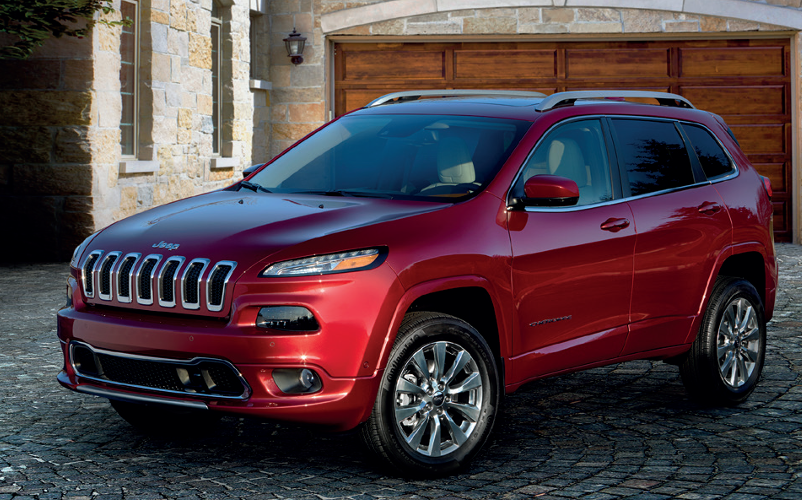 NEW JEEP CHEROKEE OVERLAND COMBINES LUXURY & OFF-ROAD PROWESS