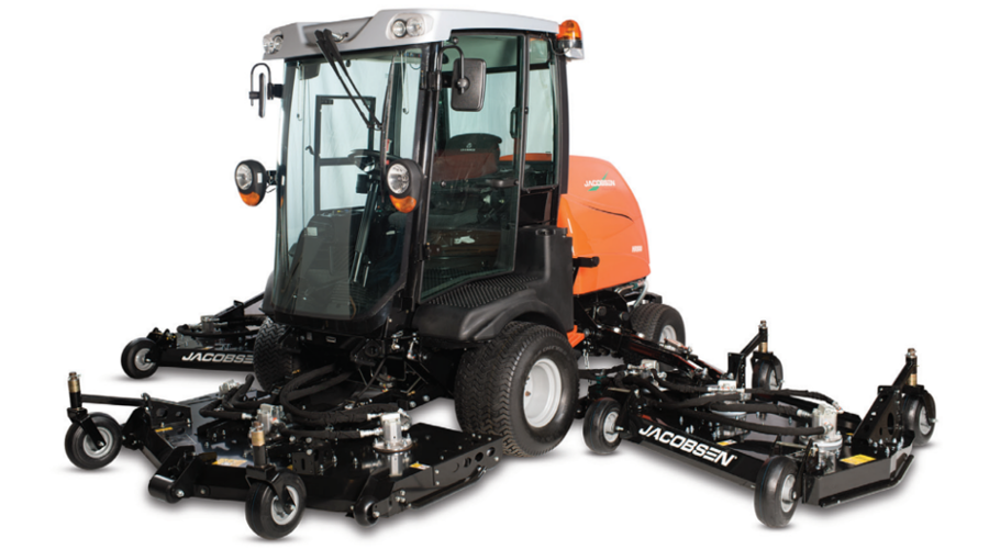 RANSOMES & JACOBSEN'S WIDE CUT INNOVATIONS
