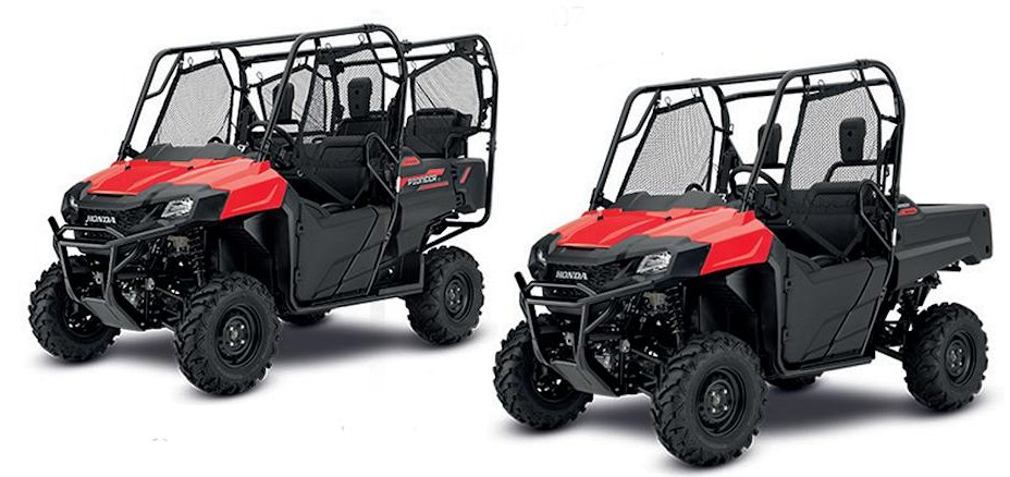 PIONEERING UTV FROM HONDA
