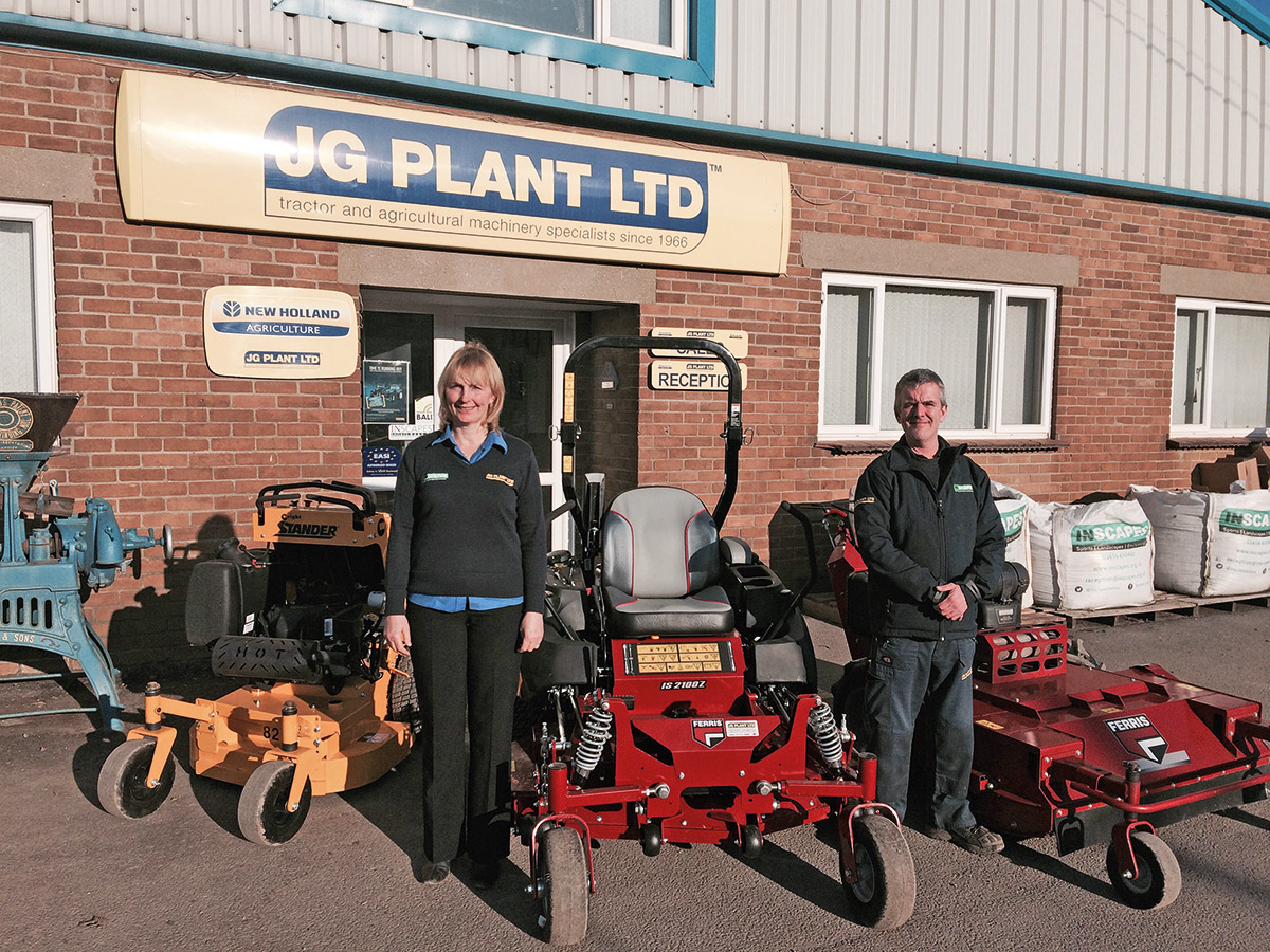 NEW FERRIS & WRIGHT MACHINERY DEALER