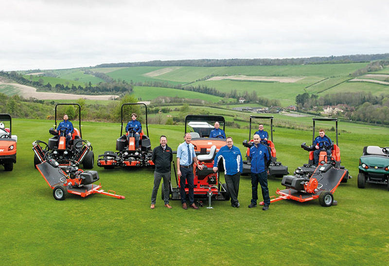 LARGE SCALE RE-EQUIPPING SETS GORING & STREATLEY ON COURSE FOR SUCCESS