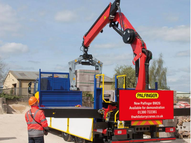palfinger lorry crane