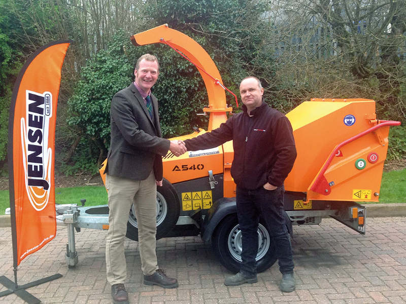 JENSEN CHIPPERS JOIN THE LINE-UP