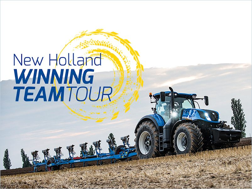 New Holland Winning Team