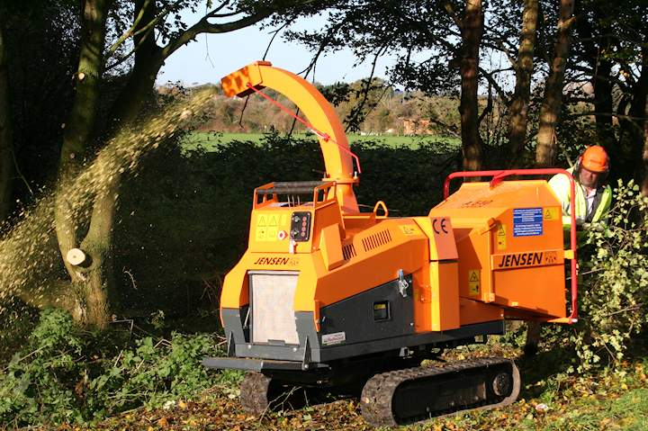 Machinery Imports Jensen chippers