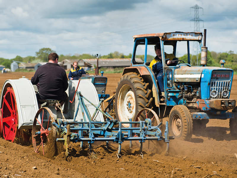 TRACTOR CENTENARY RAISES OVER £8,000 FOR CHARITY