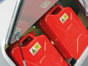 Transporta fuel cans
