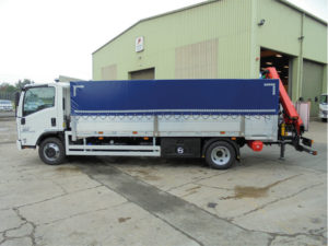 dropside with tarp cover
