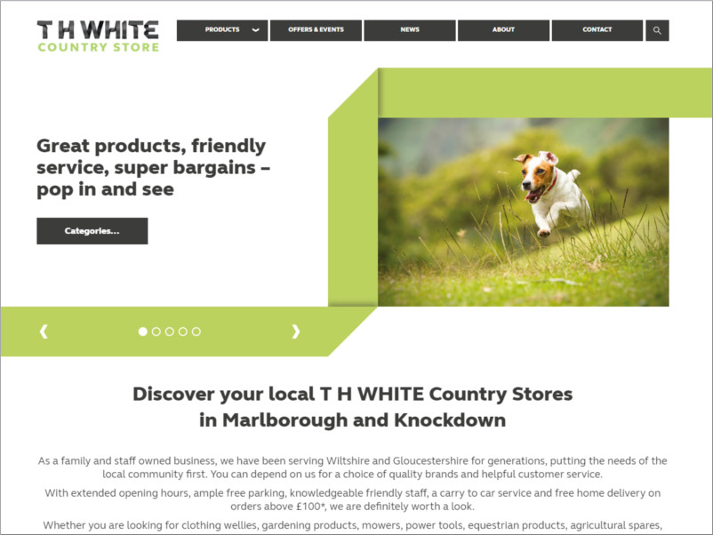 th white country store