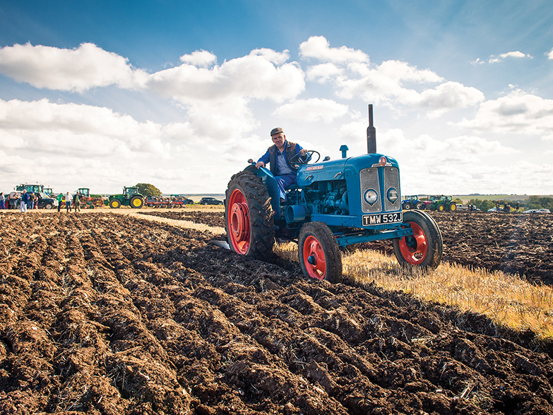 PLOUGHING – AS IT USED TO BE