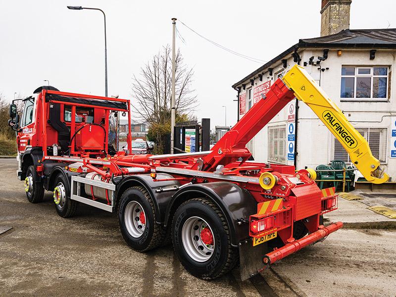 New Palfinger T22 Hookloader for Bithells of Wigan