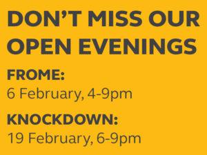 open evenings