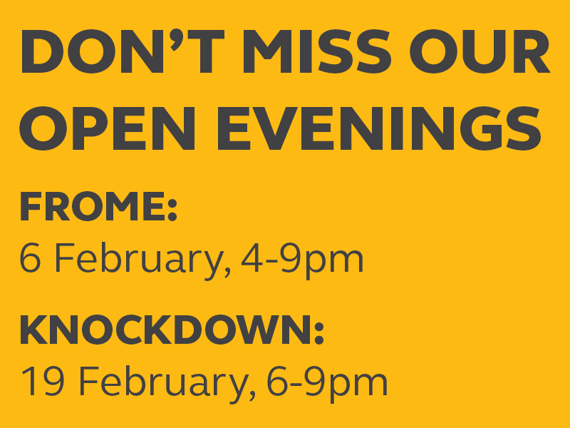 AGRICULTURAL OPEN EVENINGS