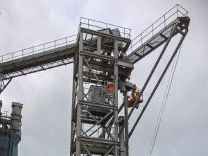 New loading spout at Shoreham