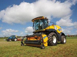 The new FR650 forage harvester at Grassland UK 2018