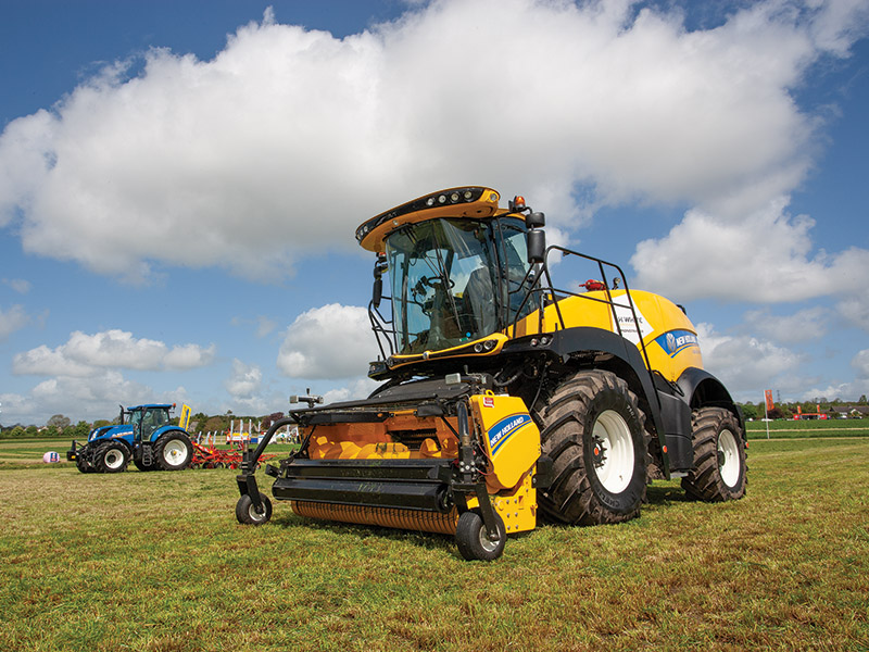 The new FR650 forage harvester at Grassland UK 2018
