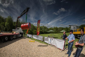 Palfinger UK crane compeition at DAF Ride and Drive event