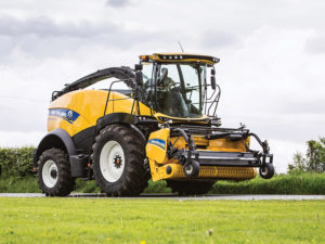 The latest New Holland Forage Cruiser