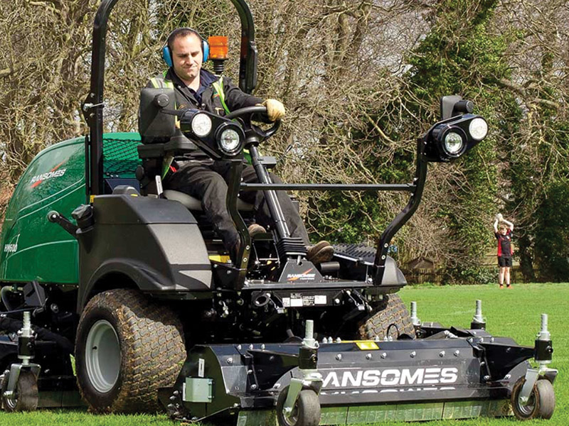 The Ransomes HM600