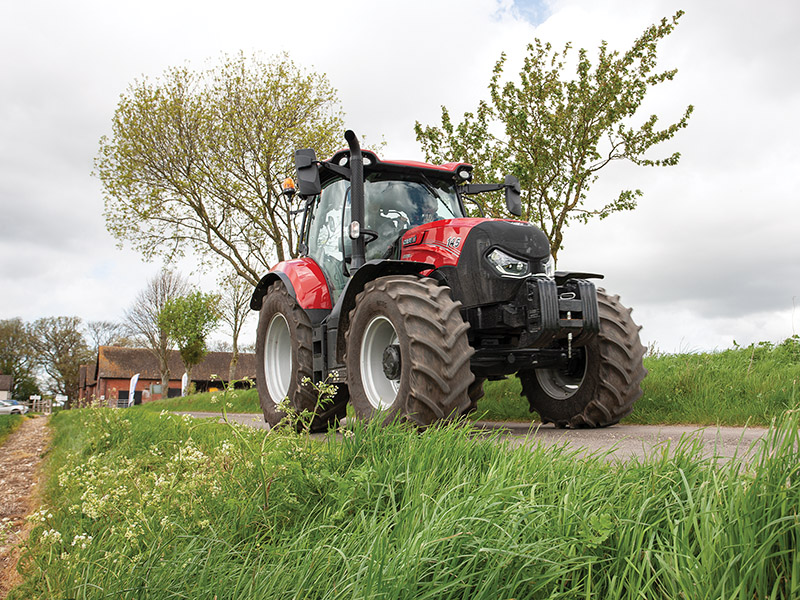 The Case IH Maxxum MC Active Drive 8
