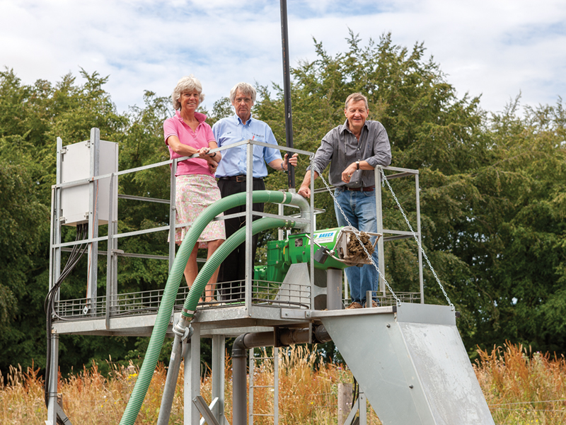 FIRST NEW BAUER SEPARATOR IN UK AIDS ORGANIC CYCLE
