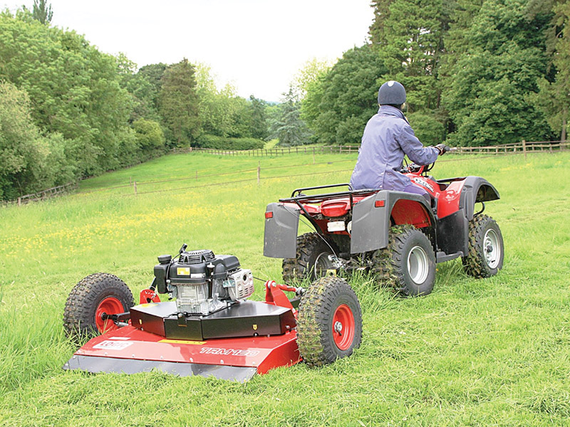 Electric start for Logic paddock mower