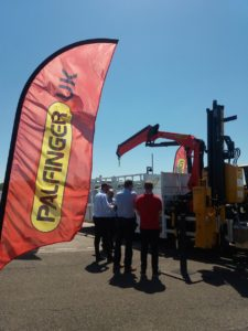 Traffex event Palfinger UK stand