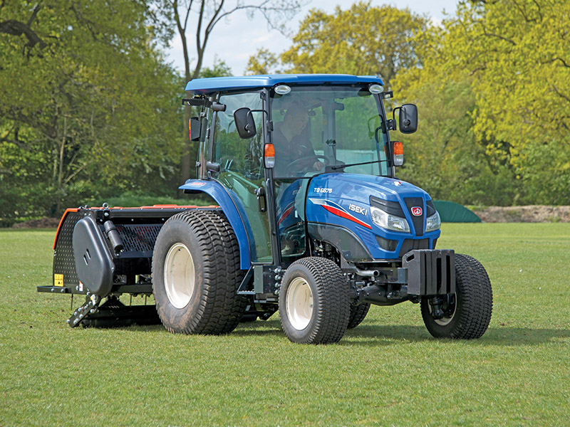 COMPACT TRACTORS WITH MULTIPLE APPLICATIONS