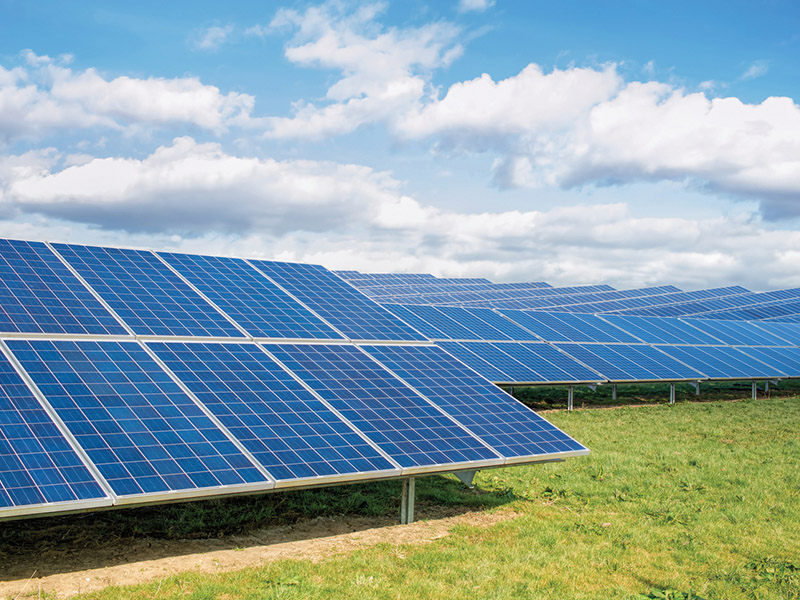 SOLAR PARK SERVICING, CLEANING AND CCTV