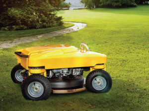 Spider X Line slope mower prototype
