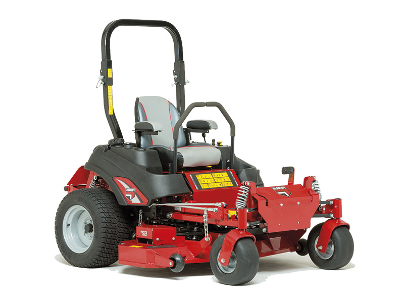NEW FERRIS ISX®800Z IS TOUGH ON THE ROUGH