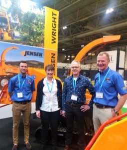 Jensen UK team with Jensen manufacturer representatives at Saltex 2018