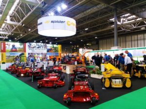 Machinery Imports stand at Saltex 2018