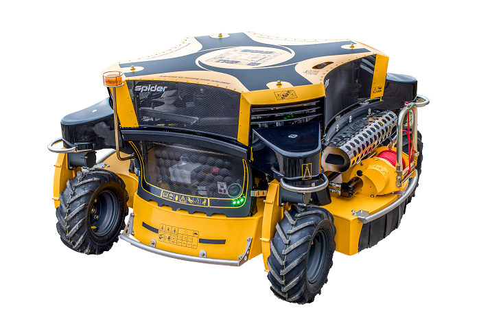 Machinery Imports Spider 2sgs robotic slope mower