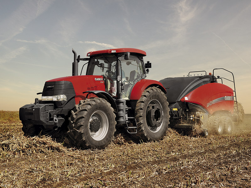 THE CASE IH HIRE FLEET IS LANDING
