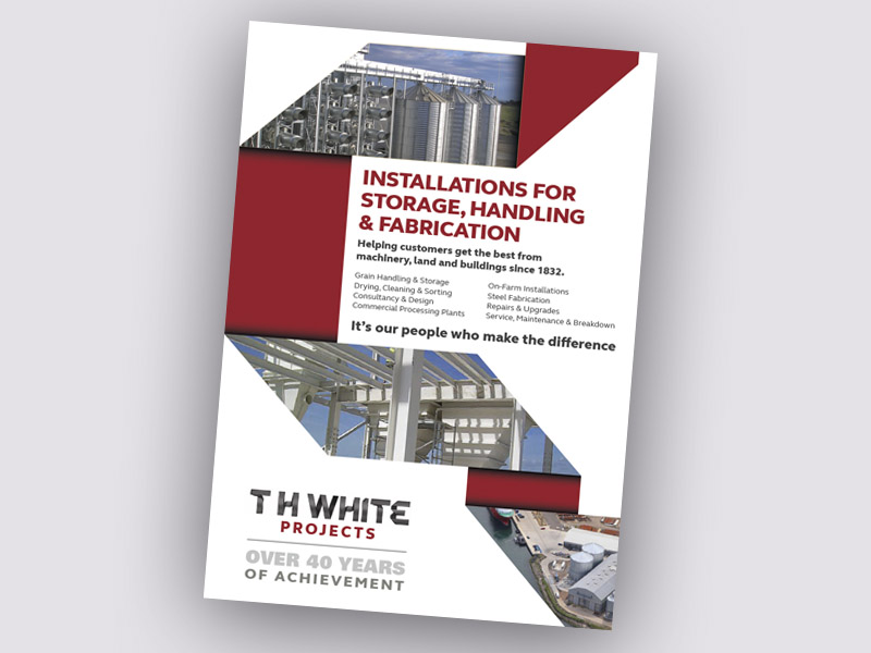 OVER 40 YEARS OF ACHIEVEMENT FOR T H WHITE PROJECTS