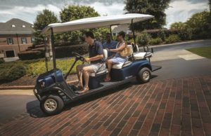 T H WHITE Golf and Utility Cushman Shuttle