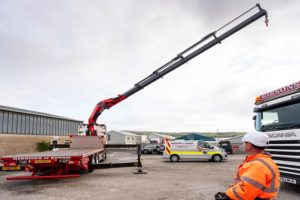 Gibsons of Kendal new Palfinger cranes in 40th year