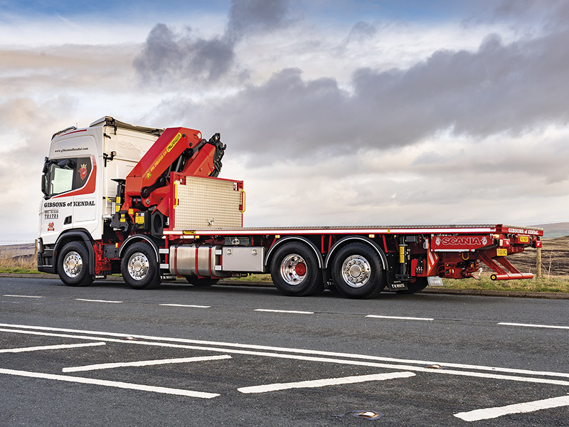 Gibsons marks 40 years with two Palfinger cranes