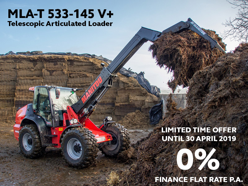 Manitou MLA-T 533-145 V+ at 0% interest