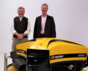Head of Machinery Imports division Bill Johnston, with General Manager Clive Carter