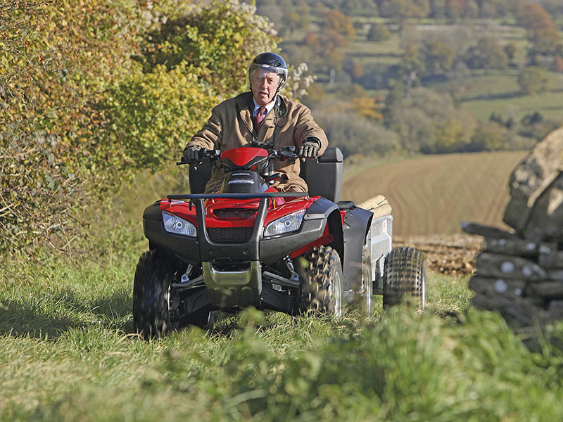 0% INTEREST ON ALL NEW HONDA ATVs