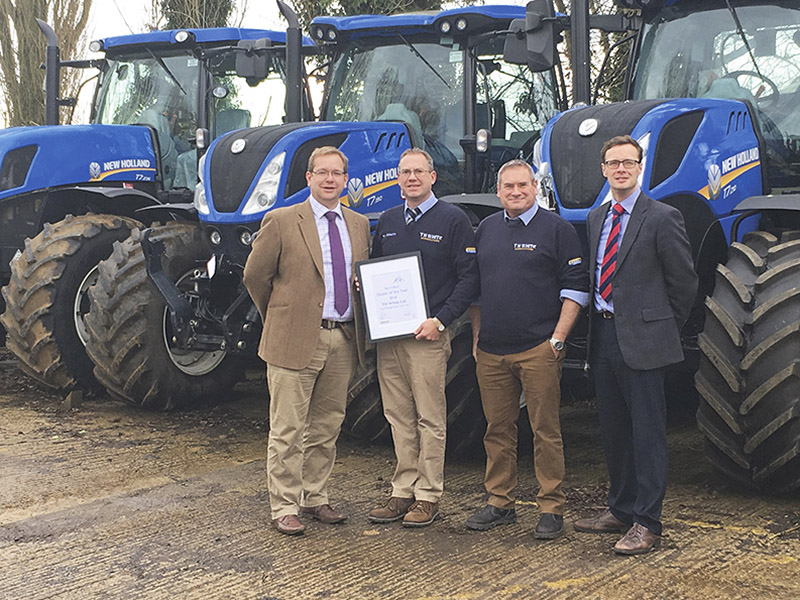 HAY & FORAGE DEALER OF THE YEAR