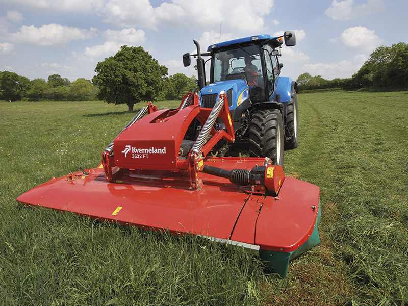 KVERNELAND EQUIPMENT NOW AVAILABLE AT T H WHITE, HEREFORD