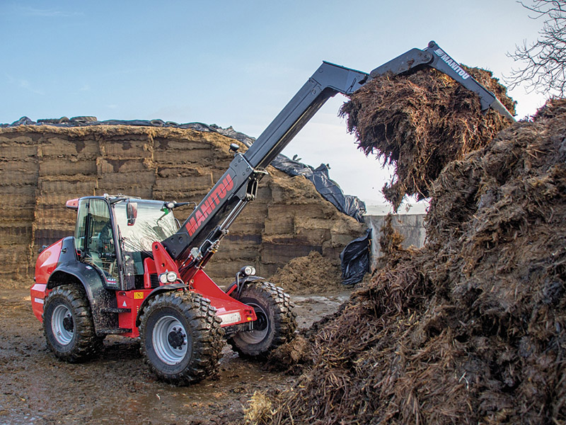 MANITOU ARTICULATED LOADERS AND SKID-STEERS