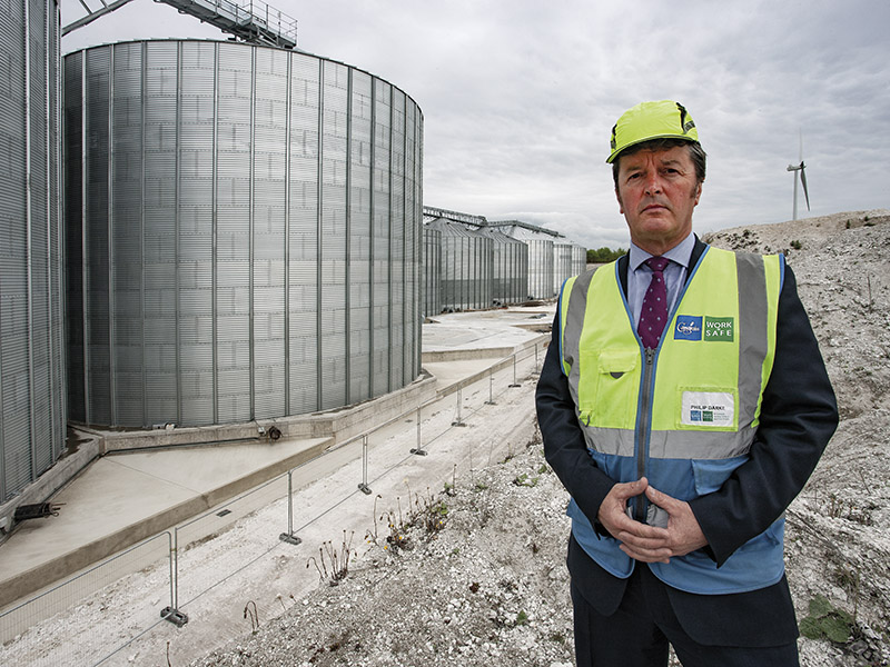 WORKING WITH THE LARGEST FARMER-OWNED STORAGE AND PROCESSING CO-OPERATIVE