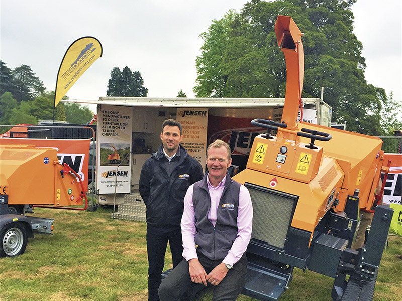 JENSEN CHIPPERS IMPRESS AT ARB SHOW