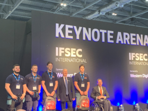 Our EFS Apprentice Jordan Miners is runner up in IFSEC's Engineers of Tomorrow competition